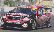 2013 Tasmania 365 Round Winner VF Commodore Fabian Coulthard